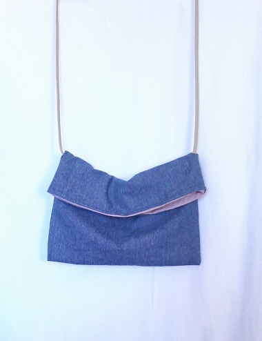 Sac pochette denim JANE
